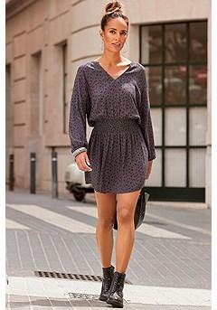 Animal Print Dress product image (F01040-LE)
