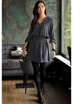 Animal Print Dress product image (F01040LE)