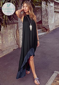 High Low Maxi Dress product image (F02001.2-S)