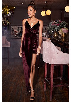 Velvet Maxi-Mini Dress product image (F02004.WI.2-SS)