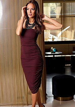 Slip Ruched Bodycon Dress product image (F02012BKBY_1M)