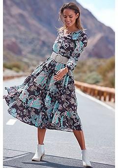 Long Sleeve Maxi Dress product image (F02013LE_1)