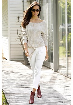 Boat Neck Sweater product image (F03020BE_FV-1)