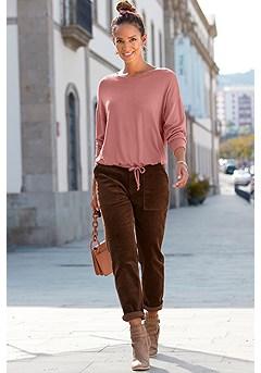 Drawstring Sweater product image (F03046-ODRS_1.F09018CH_1)