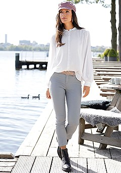 Long Sleeve Blouse product image (F04006.WH.1S)
