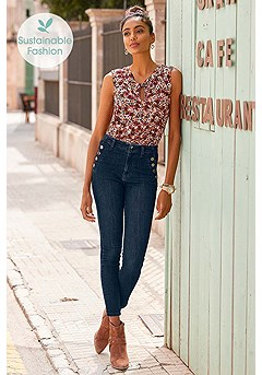 High Waisted Pants product image (F05002.MUPR.X38205.NV.BS)