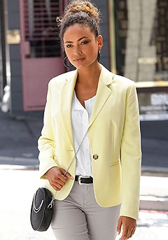 Classic Blazer product image (F07009.YL_1)