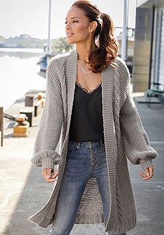 Long Knit Cardigan product image (F07010.GY.F05015.BK.X38172.DE.P)