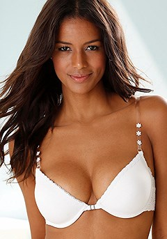 Front Clasp Push-Up Bra product image (X01020-WH_03)