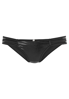 Faux Leather Bikini Brief product image (X01110.BK_X06060.BK_5)
