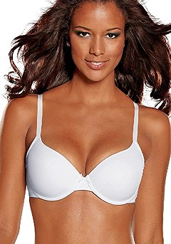 Underwire T-Shirt Bra product image (X03013-WH_02)
