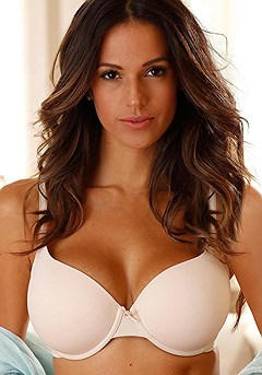 Underwire T-Shirt Bra product image (X03013_POWD_00)