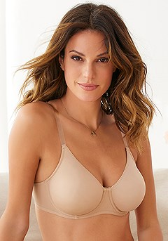Clear Strap Underwire T-Shirt Bra product image (X03017TF_1)