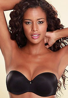 Multiway Bandeau Push Up Bra product image (X04001.BK.P)