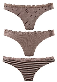 3 Pk Comfy Thongs product image (X05002-TPPR_01-)