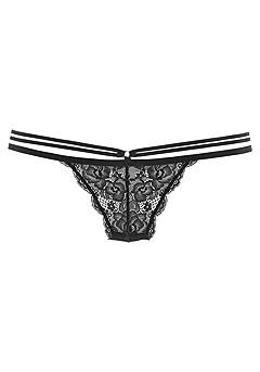 Transparent Lace Bikini Brief product image (X05165BK_4)