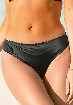 Scallop Hem Bikini Brief product image (X06061.BK.P10)
