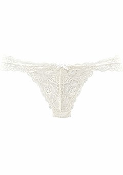 Floral Lace Cheeky Panty product image (X08007.OFWH.PS)