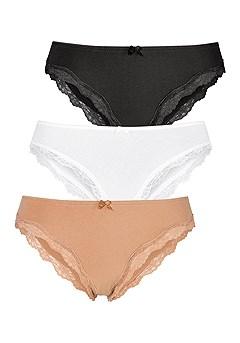 3 Pk Cheeky Panties product image (X08048MU_2)