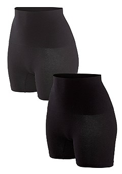 2 Pk Shaping Shorts product image (X12006-BK_01)