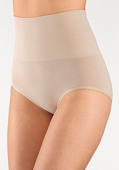 2 Pk Shapewear Briefs product image (X12025BKNU_2)