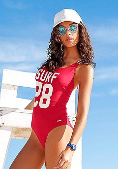 Sporty One-Piece product image (X15045.RD.00)