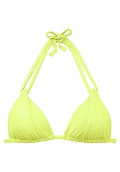 Strappy Triangle Bikini Top, Strappy Classic Bikini Bottom product image (X16017-LN_00)