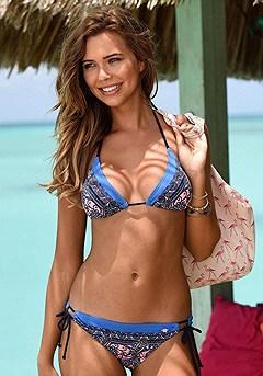 Print Triangle Bikini Top, Print Bikini Bottom product image (X16036_BLMU_X17036_BLMU_00)