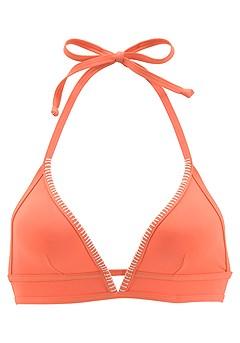 Plunge Triangle Bikini Top, Loop Bikini Bottom product image (X16058-CO-02)