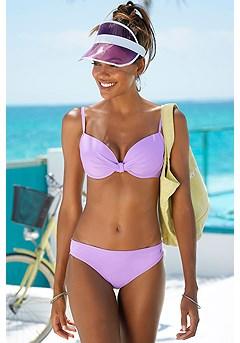Twist Underwire Bikini Top, Classic Bikini Bottom product image (X24013LI_X28031LI_1)
