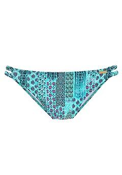 Halter Underwire Bikini Top, Strappy Classic Bikini Bottom product image (X24051.X25051.TQPR.PC)