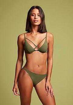 Strappy Underwire Bikini Top, Strappy Bikini Bottom product image (X24174OL_X28367OL_1)