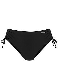 Classic Underwire Bikini Top, Ruched Midrise Bikini Bottom product image (X24269BK_X25269BK_2.1)