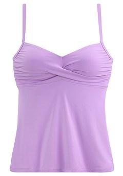 Twist Tankini Top, Classic Bikini Bottom product image (X26016LI_2)