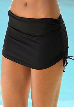 Skirted Bikini Bottom product image (X28025-BK_04)
