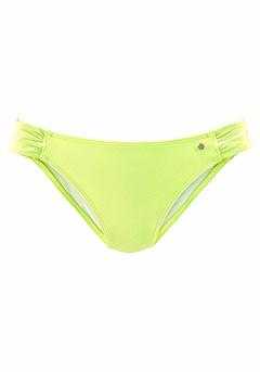 Twist Bandeau Bikini Top, Strappy Classic Bikini Bottom product image (X28030-LN_01)