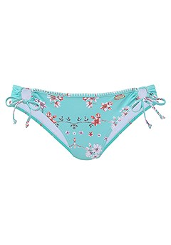 Trimmed Underwire Bikini Top, Loop Bikini Bottom product image (X28118-TQPR-01)