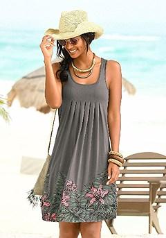 Sleeveless Printed Dress product image (X29002.TPPR.00)