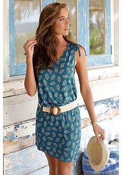 Multi Print Dress product image (X29064TLPR_1)
