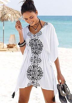 Butterfly Sleeve Cover Up product image (X29070.WHPR.00)