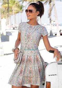 Swinging Mini Dress product image (X29088.CRPR.00)