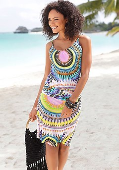 Psychedelic Print Dress product image (X29117-MUPR-00)