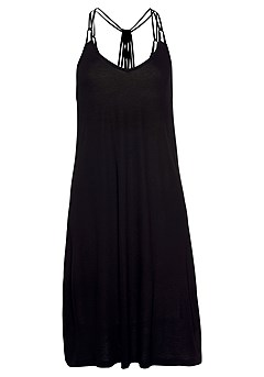 Strappy Low Back Dress product image (X29463BK_4)
