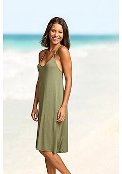 Strappy Low Back Dress product image (X29463OL_1.P)