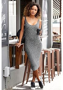 Sleeveless Ribbed Midi Dress product image (X29488GYMO_1)