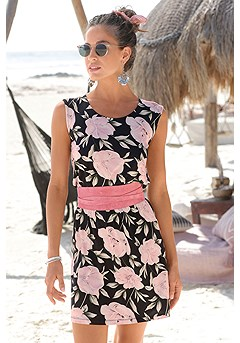 Floral Print Dress product image (X29496MUPR)