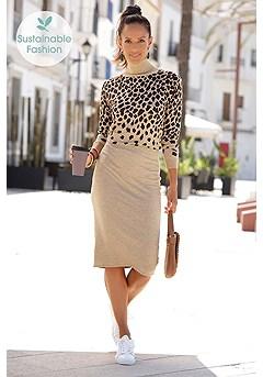 Leopard Midi Dress product image (X29530CGBK_1.2)