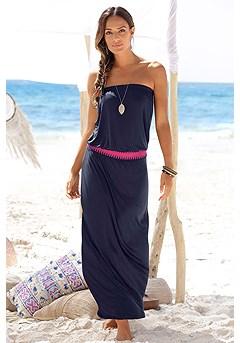 Bandeau Maxi Dress product image (X30002-NV-00)