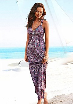 Strap Accent Maxi Dress product image (X30004-BYMU)