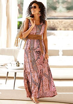 Sleeveless Maxi Dress product image (X30104MUPR)